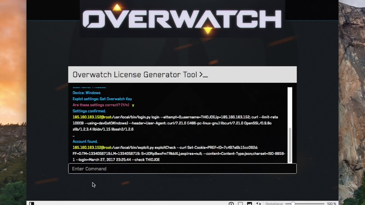 Overwatch 2019 Key License + Activation Key Generator [Crack]