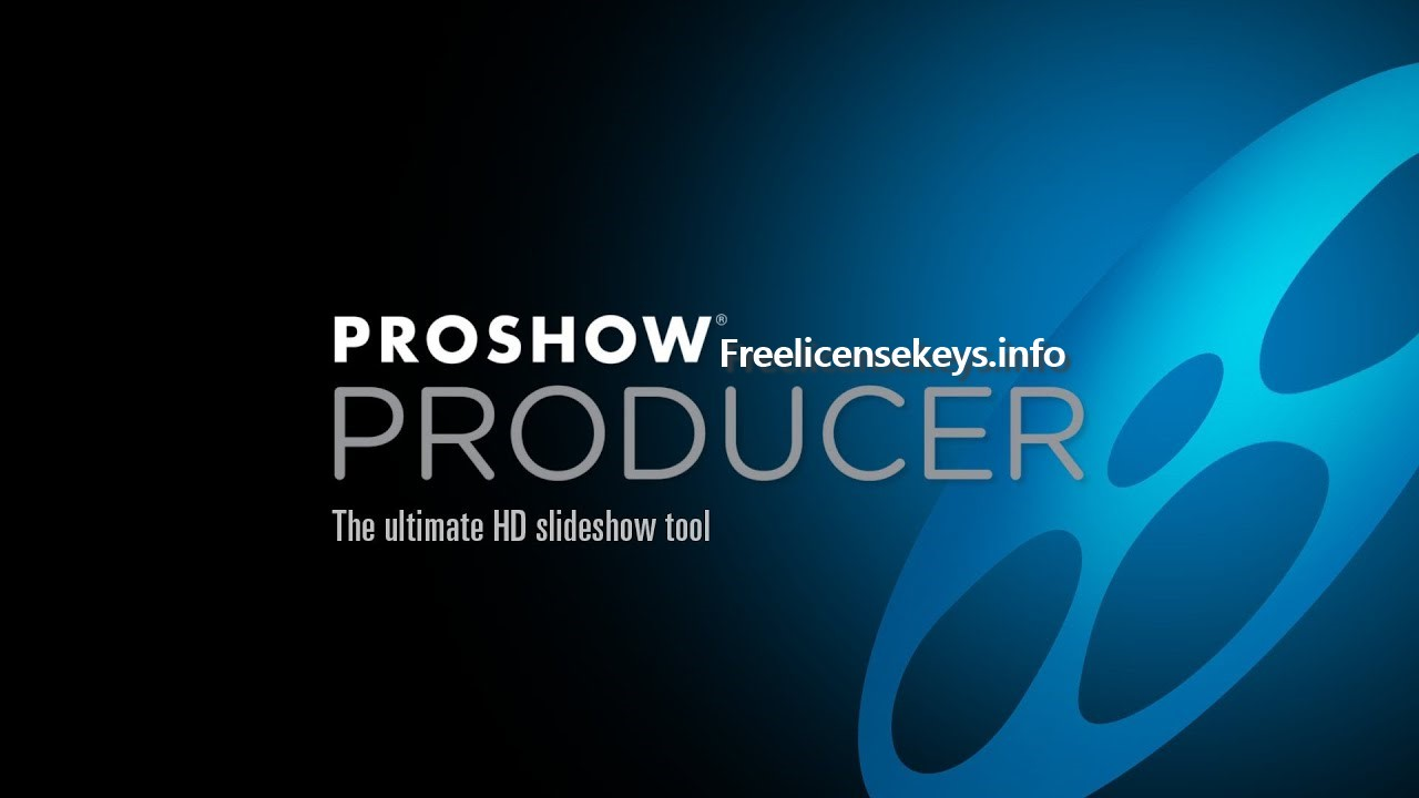 This is the logo of Proshow Producer Crack + Keygen