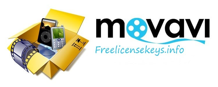 This picture is the logo of Movavi Video Converter Crack Key