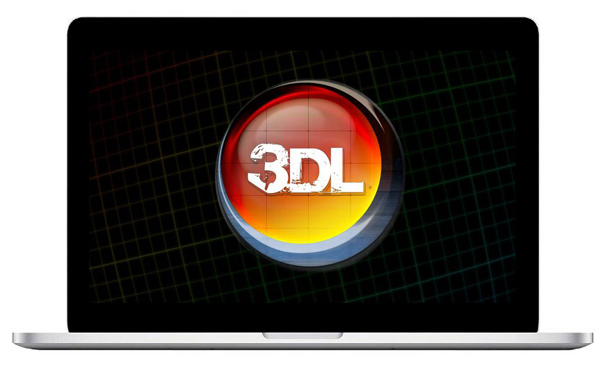 This is the logo of 3D LUT Creator Crack