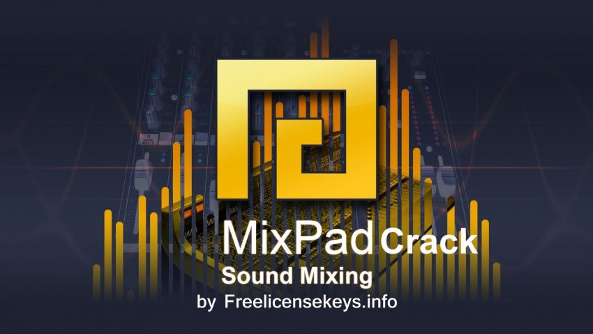 The logo Mixpad-Crack-Registration-Code with design